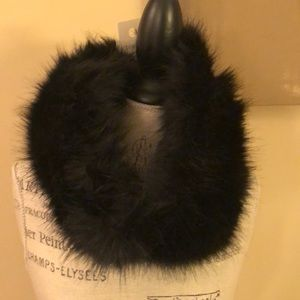 Mossimo Supply faux fur infinity scarf NWT